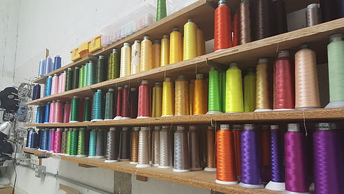 <b>Thread</b><br/> We have every color thread imaginable!